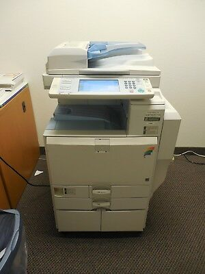 Ricoh Aficio Mp  C2800 Color Multifunction 28Ppm Laser Printer Copier Scanner