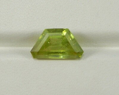 Sphen  grün 3,24 ct Titanit  Sphene green Titanite Simbabwe   koxgems