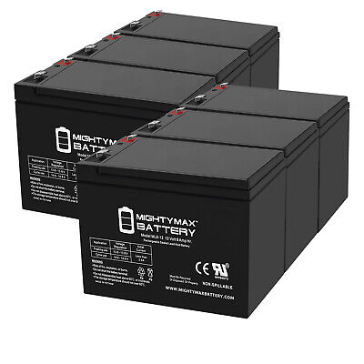 2 Pack AB1290 12V 9AH SLA Battery Replacement for APC Smart-UPS 750 UB1270