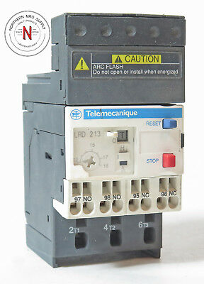 SCHNEIDER ELECTRIC TELEMECANIQUE LRD213 OVERLOAD RELAY, 690V, 12-18A, 6kV