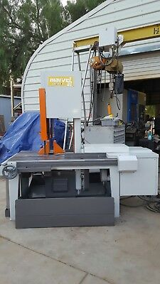Marvel 8 Mark 1 Vertical Mitering (Tilting) Band Saw  Loaded Ships Truck Frieght