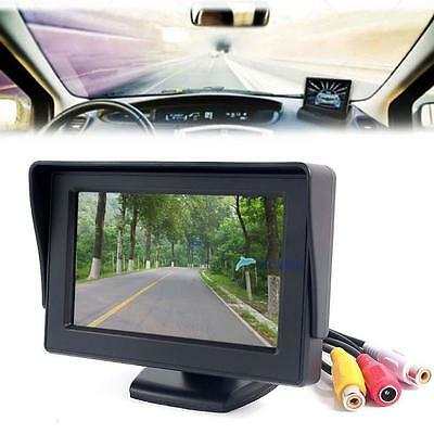"4.3"" TFT LCD Color Screen Car Rear View Monitor DVD GPS for Car Backup Camera T#"