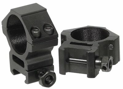 Set of 2/2pics Rifle Medium Profile Ring Mounts Fit 30mm Picatinny/Weaver Rail