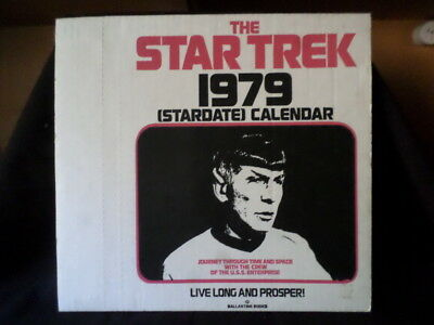 Star Trek. The Star Trek Stardate 1979 Calendar. Ballantine Books.