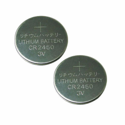 2PC x CR2450 DL2450 3V Lithium Battery Button Cell Coin for Watch Toys PKCELL