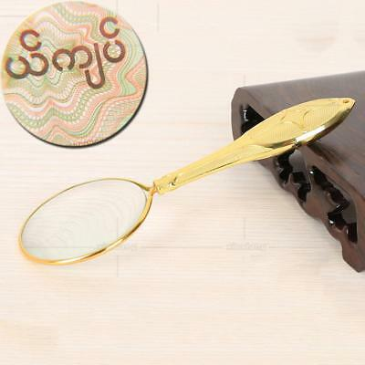 45mm Handheld 5X Magnifier Magnifying Glass Loupe Reading Jewellery Tool