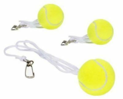 3X TOTEM TENNIS TRAINER SPARE BALL HOOK STRING  BALL Replacement BACKYARD