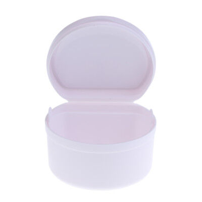 Orthodontic Denture Teeth Box Container Dental Holder Storage Case Bathing Cup