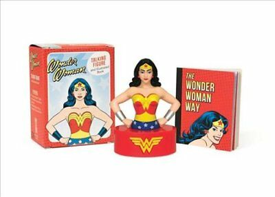 Miniature Editions: Wonder Woman Talking Figure and Illustrated Book by...