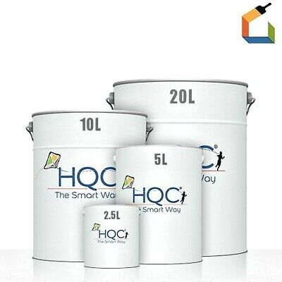 HQC Masonry Paint Weatherproof Ultimate Long Lasting Protection Durable Smooth