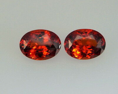 Hessonit Paar  Hessonite 10,20 ct  Sri Lanka  koxgems