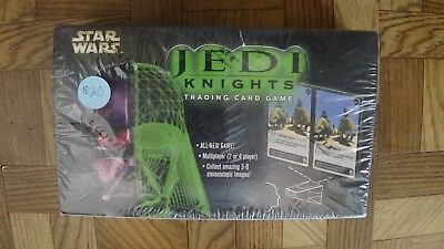 STAR WARS Jedi Knights cardgame 396 cards NEW IN PACKAGE 2001 booster