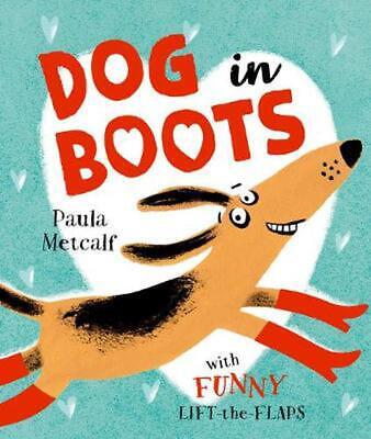 Dog in Boots by Paula Metcalf Paperback Book Free Shipping!