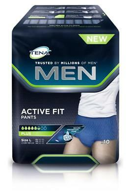 TENA Men Active Fit Pants Plus L 10St PZN: 12739957