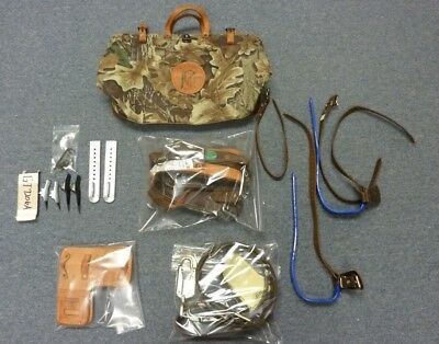 BUCKINGHAM Pole / Tree Climbing Kit in Klein Tools Bag COMPLETE SET *A