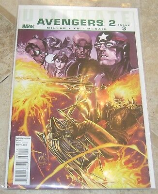 Ultimate Avengers 2 #3 VF/NM Mark Millar Marvel Comics