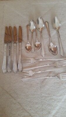 JUNE aka Nursery Silverplate flatware 1932 Mixed Lot, Oneida Tudor Plate