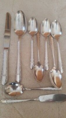 REGENT Silverplate flatware 1939 Mixed Lot, Wm Rogers International