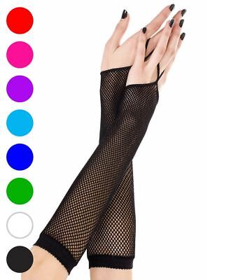 One Finger Fishnet Gloves - Music Legs 430