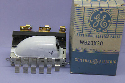 Vintage General Electric / Hotpoint - Push Button Switch - 23CS2 - New Old Stock