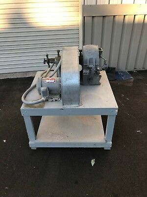 BICO PULVERIZER UA53 w/ 2hp motor and table * Gold Ore crusher processing