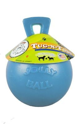 "Horsemens Pride - Tug-n-Toss Jolly Ball 4.5"" Blueberry"