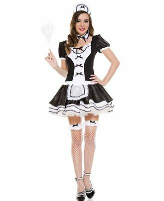 Sweet And Majestic French Maid Costume - Music Legs 70570