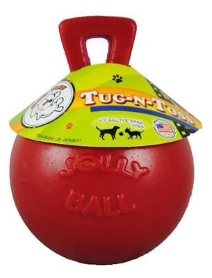 "Horsemens Pride - Tug-n-Toss Jolly Ball 4.5"" Red"