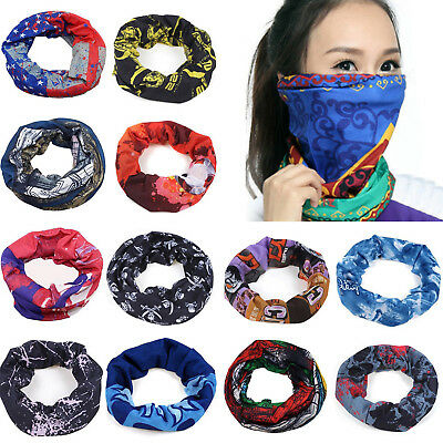 Hot Head Face Mask Bandanas Ride Bike Neck Gaiter Snood Headwear Tube Scarf HIGH