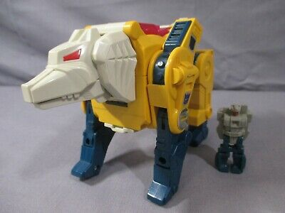 "Transformers G1 Headmaster ""WEIRDWOLF""+ Instruction Book VINTAGE 1987 Decepticon"