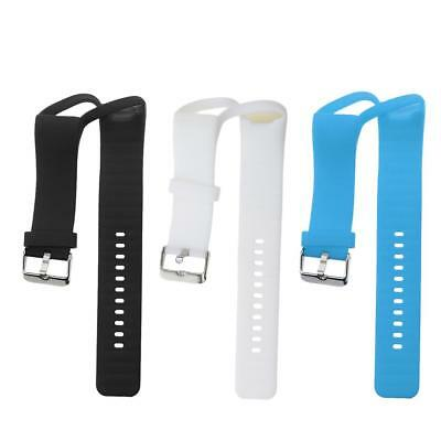 3Pieces Silicone Gel Wrist Band Replacement Strap for Polar A360 Smart Watch