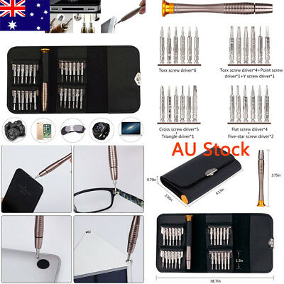 25 in 1 Precision Torx Screwdriver Set Repair Tools For Phone PC Laptop Macbook