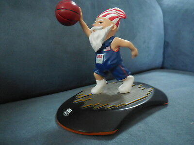 """Usa The United States Basketball Olympic Team Olympian Gnome 5"""" 2012 Trophy Tomi"""