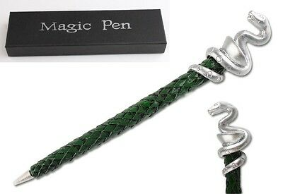 Harry Potter Slytherin House Plated Green Pen Xmas Gifts In Box Best Collection