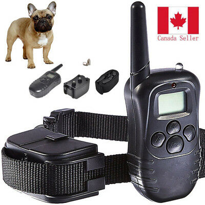 Shock Collar for Small Dog w/Remote w/ Training Clicker- 3 Modes Dog Training CA