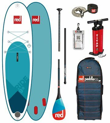 Red Paddle Co 9.8' RIDE MSL Set Package Stand Up Paddle Sup Board