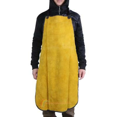 Welding Apron Leather Heat Insulation Protection Apron Workwear Safety Clothing