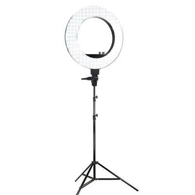 LED Photography Circle Ring Light Dimmable 5500K Lighting Photo Video EU PLUG
