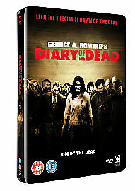 Diary Of The Dead - Limited Edition 2 Disc Steelbook Metal Packaging [DVD], New,
