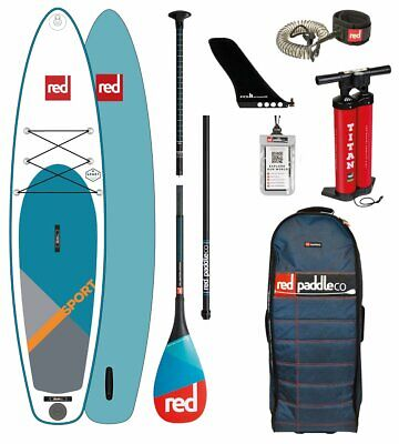 Red Paddle Co 11.0' SPORT MSL Set Package Stand Up Paddle Sup Board
