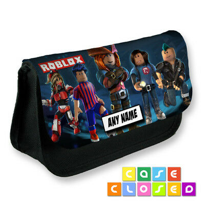 ROBLOX GAMING KIDS NAME PERSONALISED Cosmetic Make Up Bag Pencil Case School