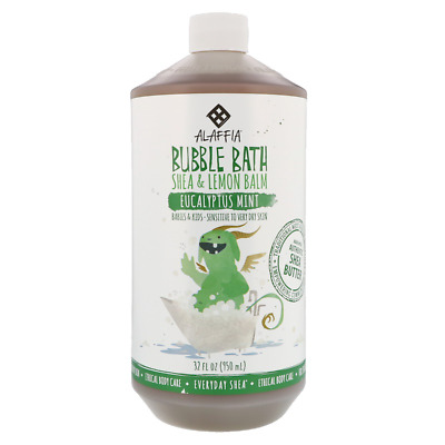 New Everyday Shea Bubble Bath Gentle For Babies On Up Eucalyptus Mint Skin Care