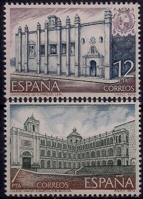 Spain 1979 UNESCO Spanish American University School Education Building 2v MNH