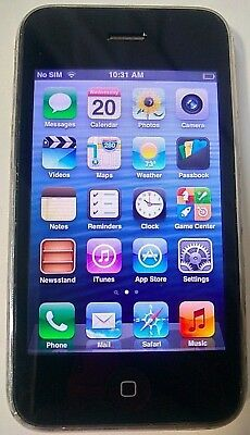 Apple iPhone 3GS 16GB White AT&T(GSM UNLOCKED) Good Condition Fully Functional