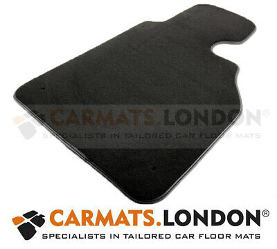 Bmw 3 Series E46 Saloon 98 - 06 Tailored Drivers Car Floor Mat in Black (Single)
