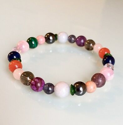 Headaches, Migraines, Head Pain & Neuralgia - Crystal Healing Gemstone Bracelet