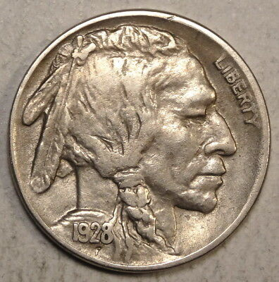 1928-S Buffalo Nickel, Extremely Fine, Better Date & Grade   1218-14