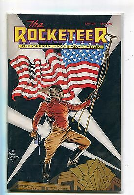 Disney's The Rocketeer Official Movie Adaptation - Comic Book  1991