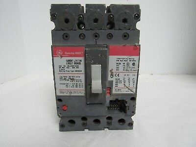 Ge Spectra Rms Current Limiting  Sela36At0030 30Amp 600Vac Circuit Breaker