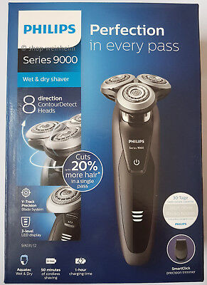 Philips Series 9000 Nass- & Trockenrasierer (Trimmer) S9031/12